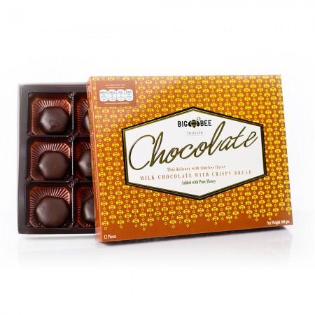 Honey Black Chocolate (Crispy-Bread)